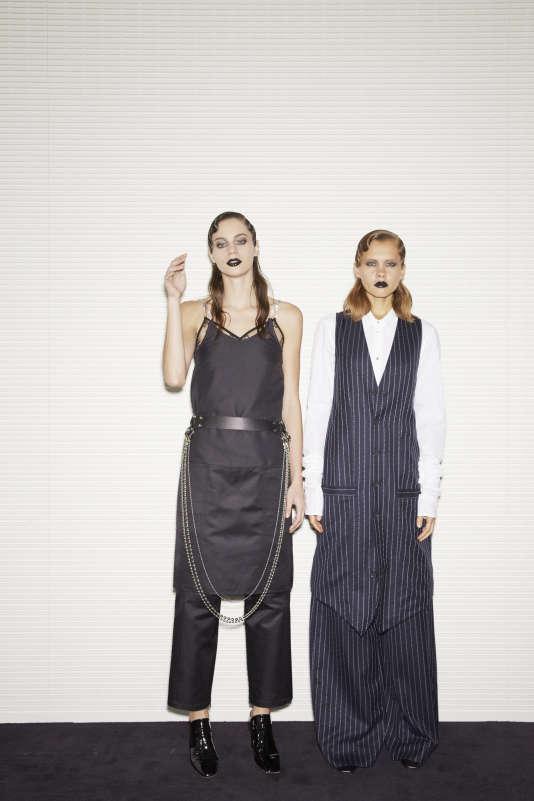 Alyx propose une mode imprégnée des contre-cultures « punkisantes» de la Côte Ouest.
