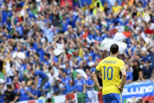 Zlatan Ibrahimovic le 17 juin.
