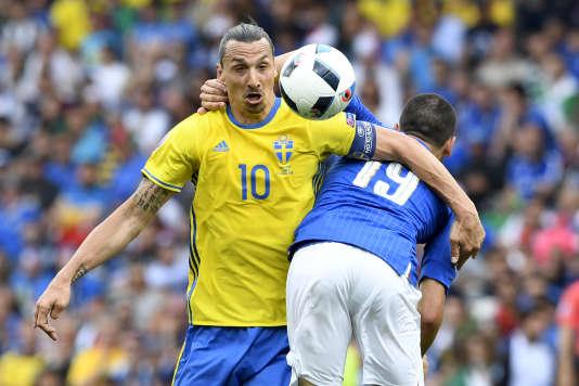 Ibrahimovic n'a rien pu faire contre les Italiens.