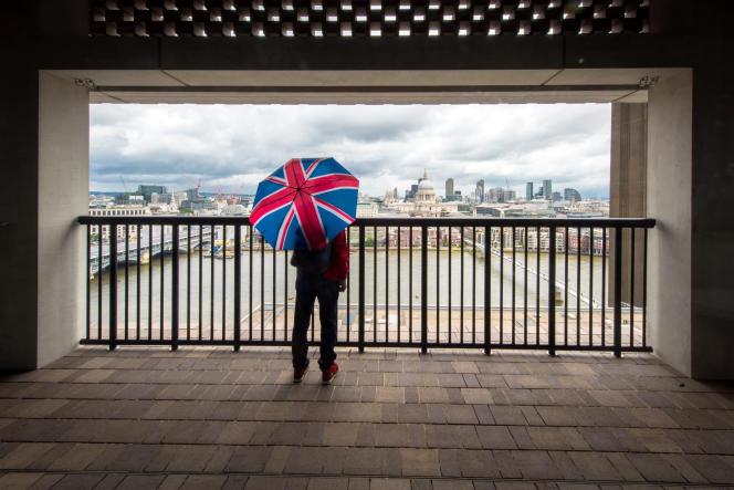 Londres vue du 10e étage de la Tate Modern.