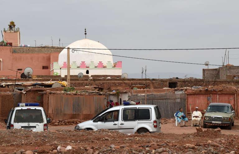 Le mausolée de Bouya Omar, près de Marrakech.