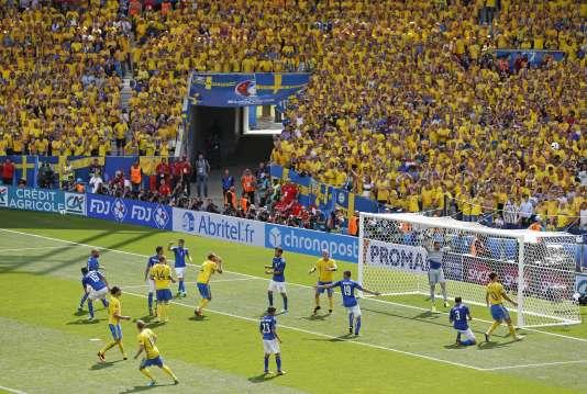 Les fans suédois en restent coi, c'est bien la Squadra qui gagne, le 17 juin.