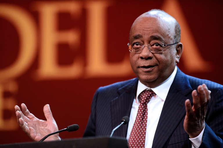 Le milliardaire anglo-soudanais Mo Ibrahim, à Prétoria en 2013.