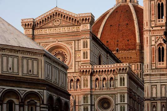 La cathédrale Santa Maria del Fiore ou Duomo, à Florence.
