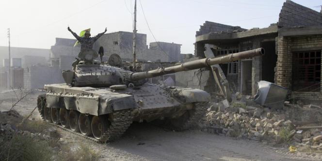 Les forces irakiennes progressent vers Fallouja,située à 50 km à l'ouest de Bagdad, et détenu par le groupe Etat islamique depuis 2014.