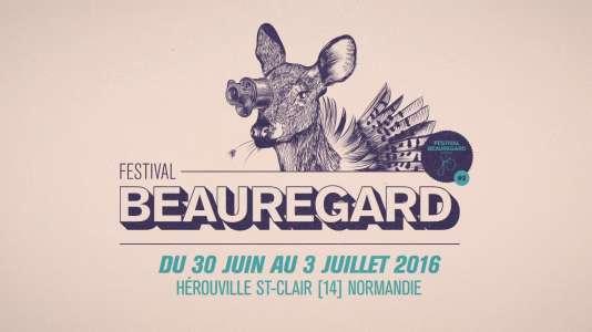 Affiche du festival Beauregard, à Hérouville-Saint-Clair.