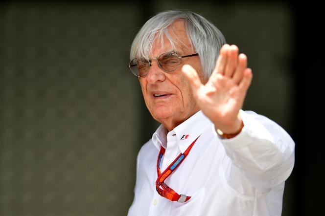 Le patron de la Formule 1, Bernie Ecclestone, le 18 juin 2016.