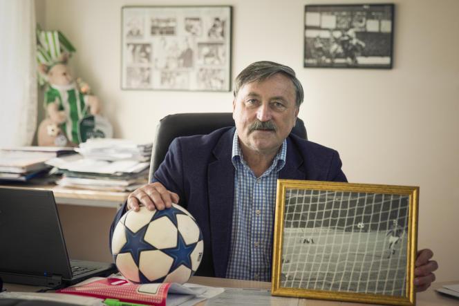 Antonin Panenka, à Prague, en janvier.