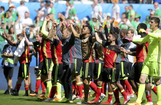 Les Belges ont empoché leur première victoire à l'Euro, avec la manière, contre l'Irlande (3-0).