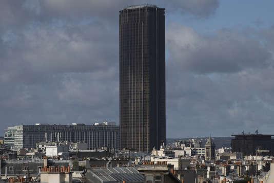 La tour Montparnasse à Paris, en septembre 2015.
