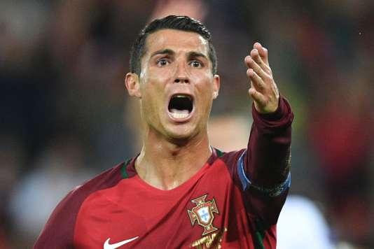 Cristiano Ronaldo, le 18 juin au Parc des Princes.