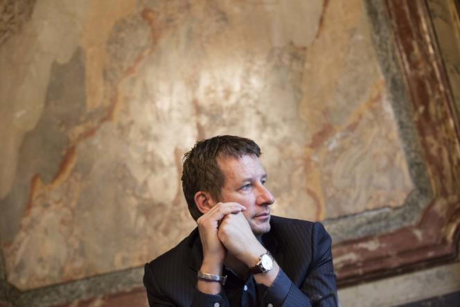 Yannick Jadot à Paris en 2014.