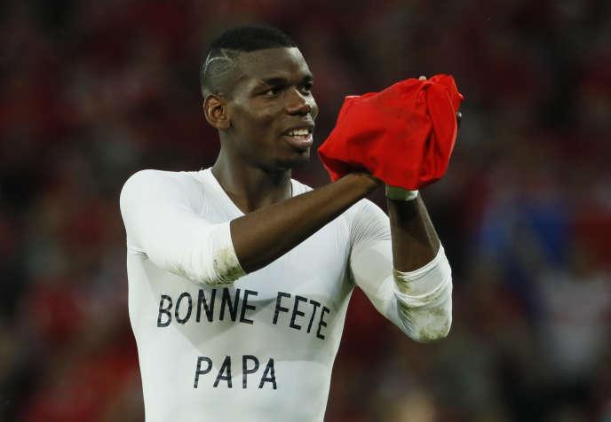 Paul Pogba le 19 juin, après le match contre la Suisse.