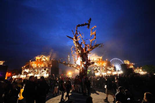 Samedi 18 juin 2016 au festival Hellfest Open Air (Loire-Atlantique).