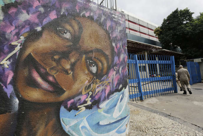 L'entrée de l'hôpital Souza Aguiar, à Rio de Janeiro, le 19 juin 2016. Un «groupe de trafiquants armés» d'une vingtaine de personnes a fait irruption dans l'hôpital pour en exfiltrer un de leurs chefs.