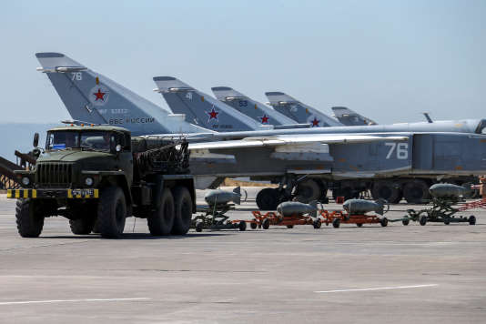 L'offensive des troupes syriennes est appuyée par l'aviation russe.