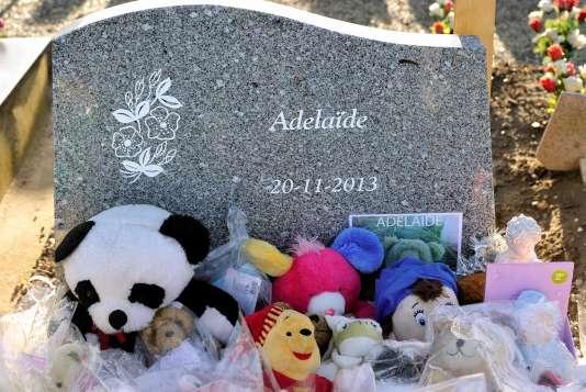 La tombe d'Adélaïde, le 14 décembre.