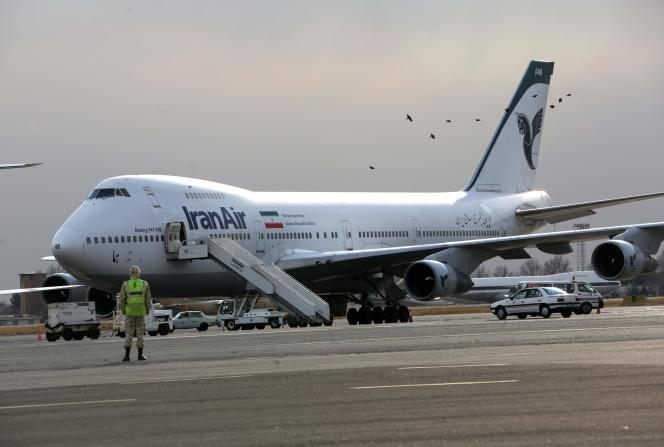 Un Boeing 747 d'Iran Air, le 15 janvier 2013.