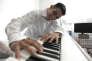 Aeham Ahmad, réfugié syrien et pianiste.