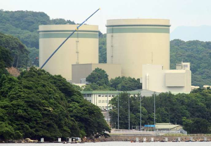 Les réacteurs 1 et 2 de la centrale de Takahama au Japon (département de Fukui, centre).