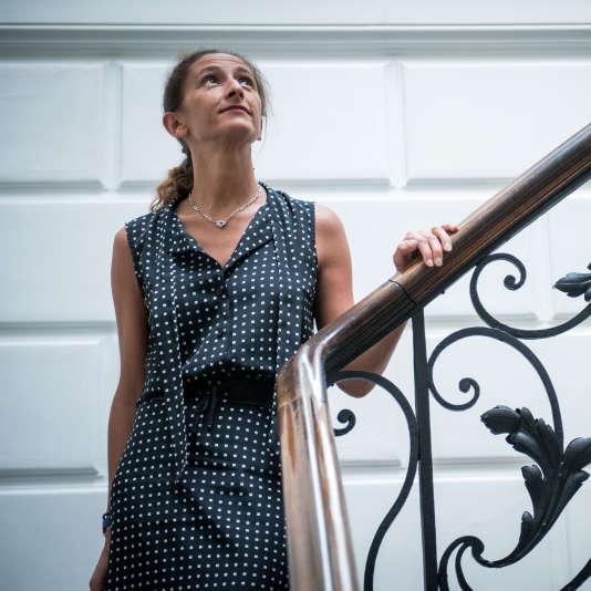 Ariane Khaida, directrice générale dunégociant et distributeur Duclot,à Bordeaux, le 16 juin.