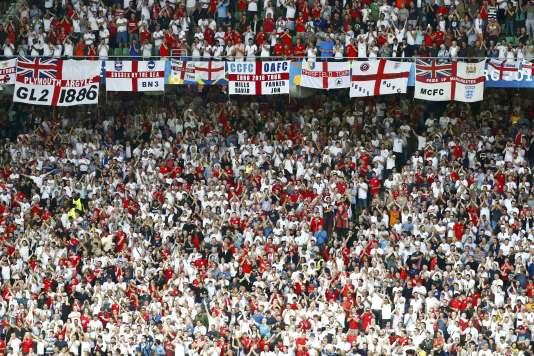 Lors du match Slovaquie-Angleterre (0-0), lundi 20juin, austade Geoffroy-Guichard, à Saint-Etienne.