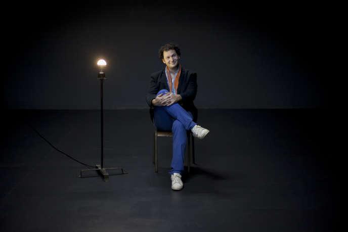 Eric Antoine au Théâtre du Rond-Point.