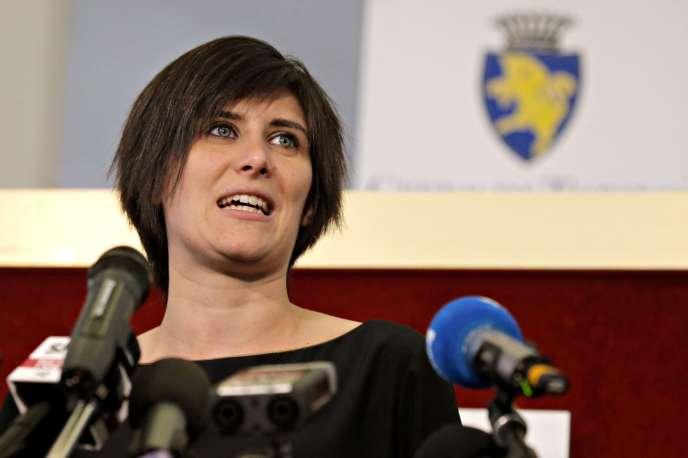 Chiara Appendino, le 20 juin 2016.