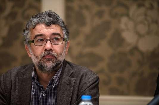 Erol Önderoglu, journaliste franco-turc et correspondant de Reporters sans frontières (RSF) en Turquie, le 2 mars.