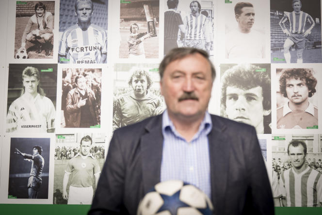 Antonin Panenka, à Prague.