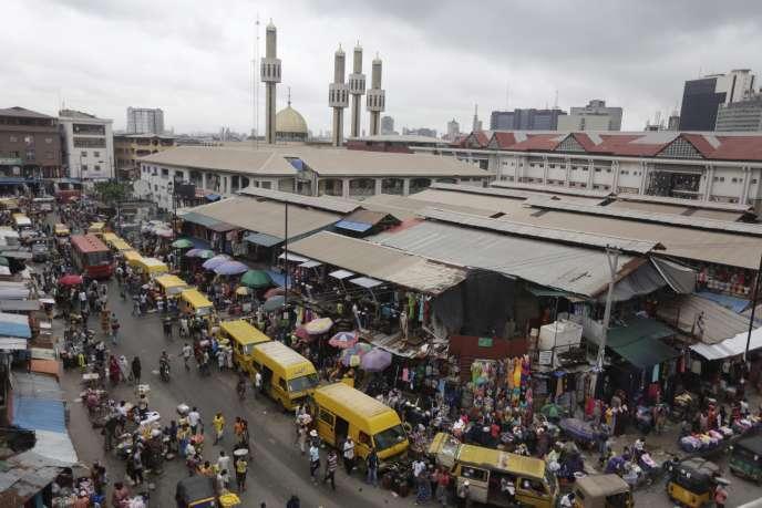 Lagos, au Nigeria.