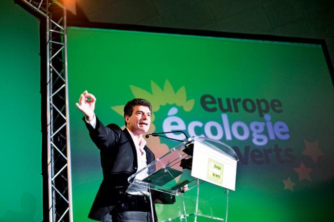 Pascal Durand en 2013, au congrès fédéral d'EELV à Caen.