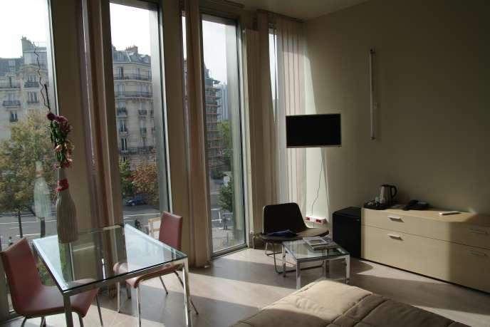 La chambre «Mercure», confort 4 étoiles à 95 euros la nuit.
