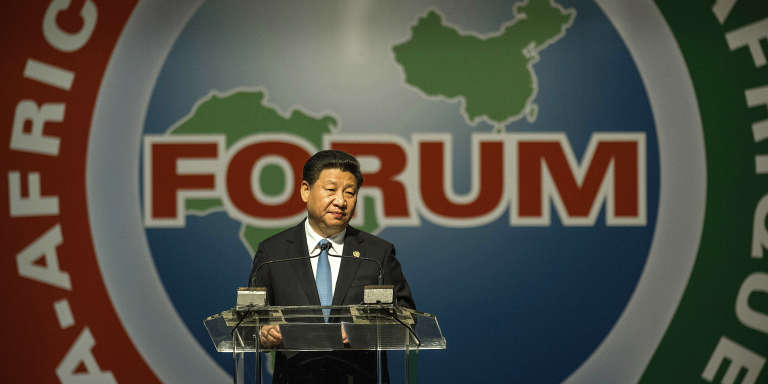 Le président chinois Xi Jinping lors du forum Afrique Chine à Johannesburg, le 4 décembre 2015.