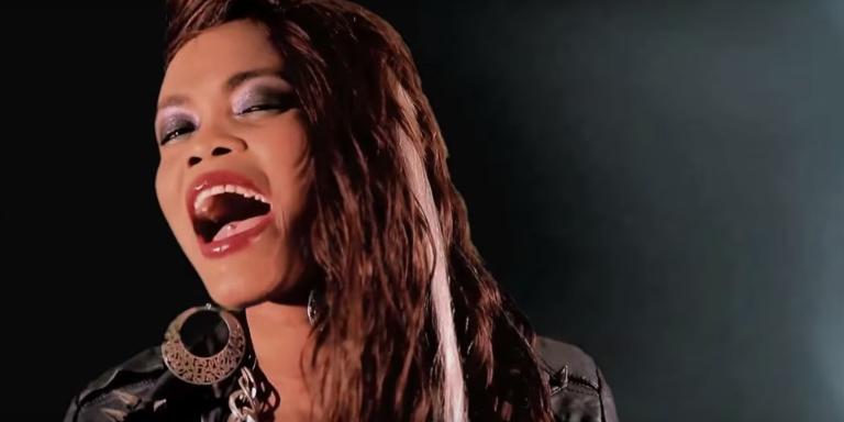 Capture d'écran du clip «Mu Nice» de la rappeuse sénégalaise Déesse Major.