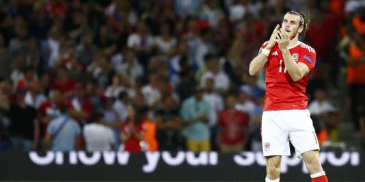Gareth Bale, lundi 20 juin, à Toulouse, lors du match contre la Russie.