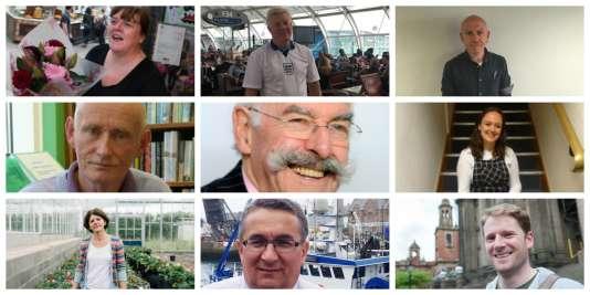 Chefs d'entreprise, étudiants, syndicalistes ou agriculteurs, il y a ceux qui veulent quitter l'UE, ceux qui veulent y rester et ceux qui sont tiraillés.