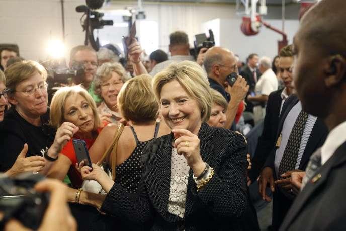 Hillary Clinton, le 21 juin à Columbus, dans l'Ohio.