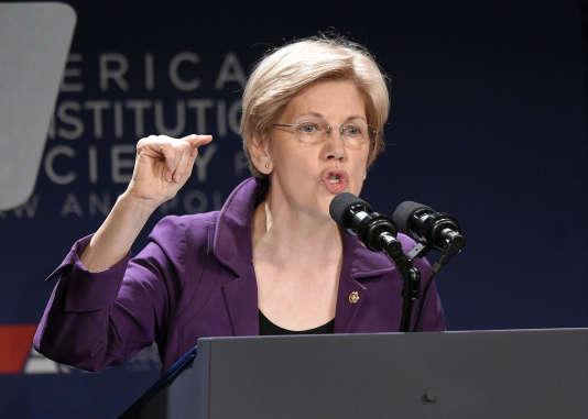 Elizabeth Warren n'a apporté son soutien à l'ancienne secrétaire d'Etat qu'au dernier moment (le 10 juin).