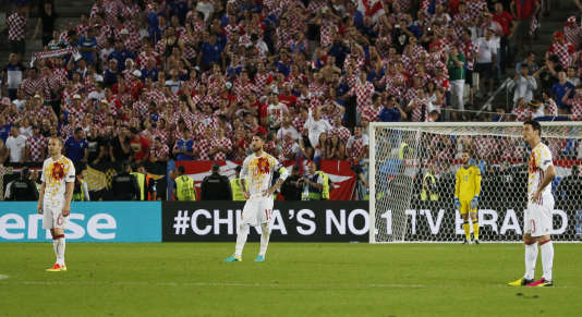 Iniesta, Ramos et Aduriz n'en reviennent toujours pas.