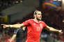 Gareth Bale célèbre le troisième but face aux Russes, lundi 20 juin à Toulouse.
