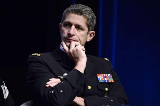 Le directeur général de la gendarmerie nationale (DGGN), Denis Favier, en octobre 2015 à Paris.