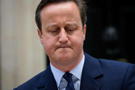 Le premier ministre britannique David Cameron, le 21 juin.