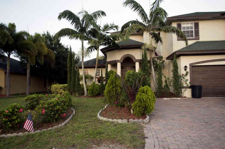 La maison familiale des parents d'Omar Mateen, à Port Sainte-Lucie.