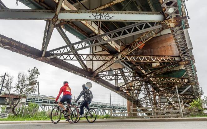 A Montréal, le réseau de pistes cyclables est de bonne qualité.