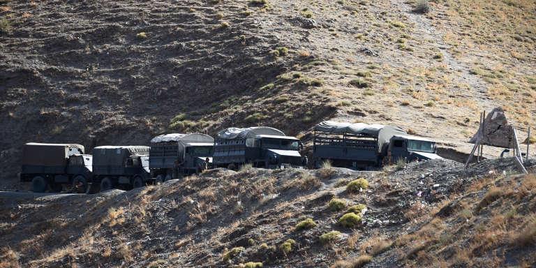 Operation de l'armée algerienne dans la région de Tizi Ozou region en septembre 2014.