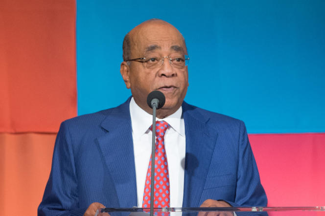 Le milliardaire anglo-soudanais Mo Ibrahim, en septembre 2015, à New York.