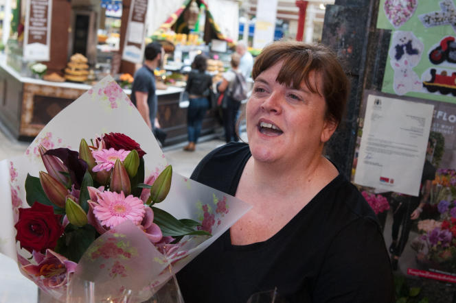 Jayne Ford, fleuriste à Leeds