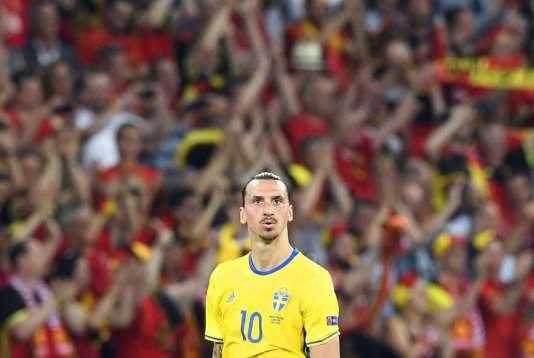 Le Suédois Zlatan Ibrahimovic, le 22 juin, à Nice.