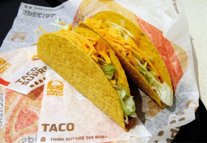 Taco Bell aux Etats-Unis.